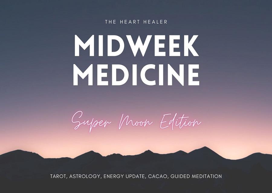 Midweek Medicine, Scorpio Super Moon: Deep Waters